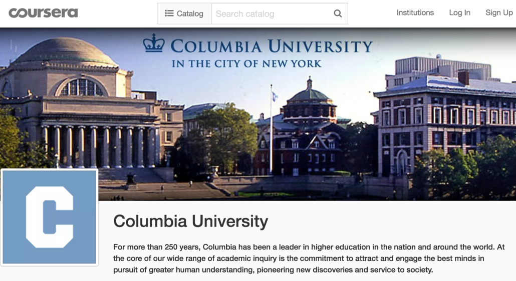 columbia u course works Columbia university online course evaluations are run and managed on the  courseworks platform also known as evaluationkit, courseworks or canvas.